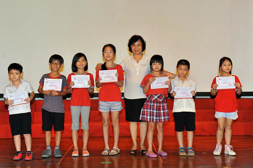 """Me va co 2 nguoi me hien 8 Trường Tiểu học Hanoi Academy với chuyên đề sinh hoạt tập thể """"Mẹ và Cô – Hai người mẹ hiền"""""""