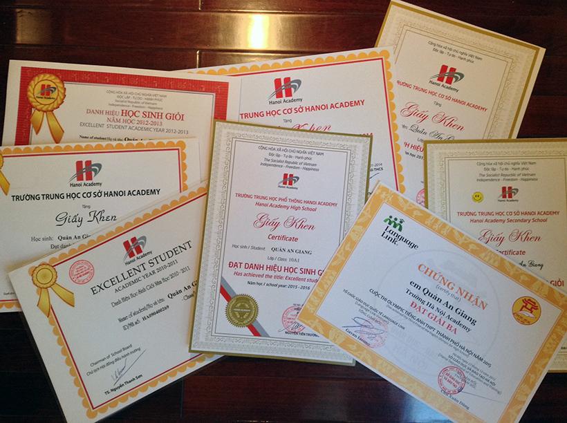 Quan An Giang 2 Quản An Giang – Gương mặt tiêu biểu khối THPT Hanoi Academy