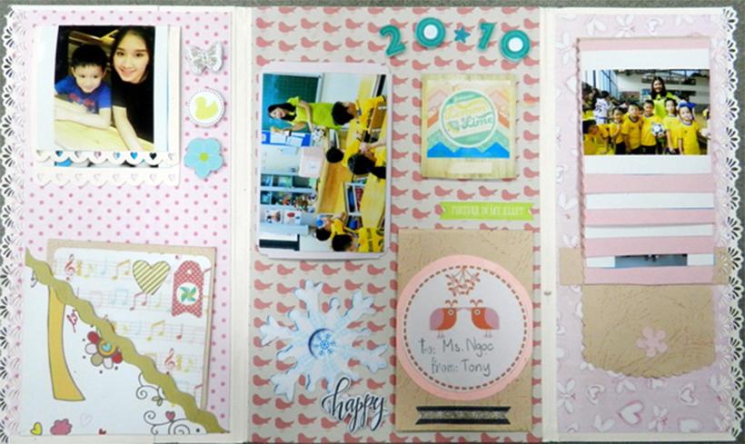San pham sang tao chao mung 20-10 1 Sản phẩm sáng tạo chào mừng ngày 20 tháng 10