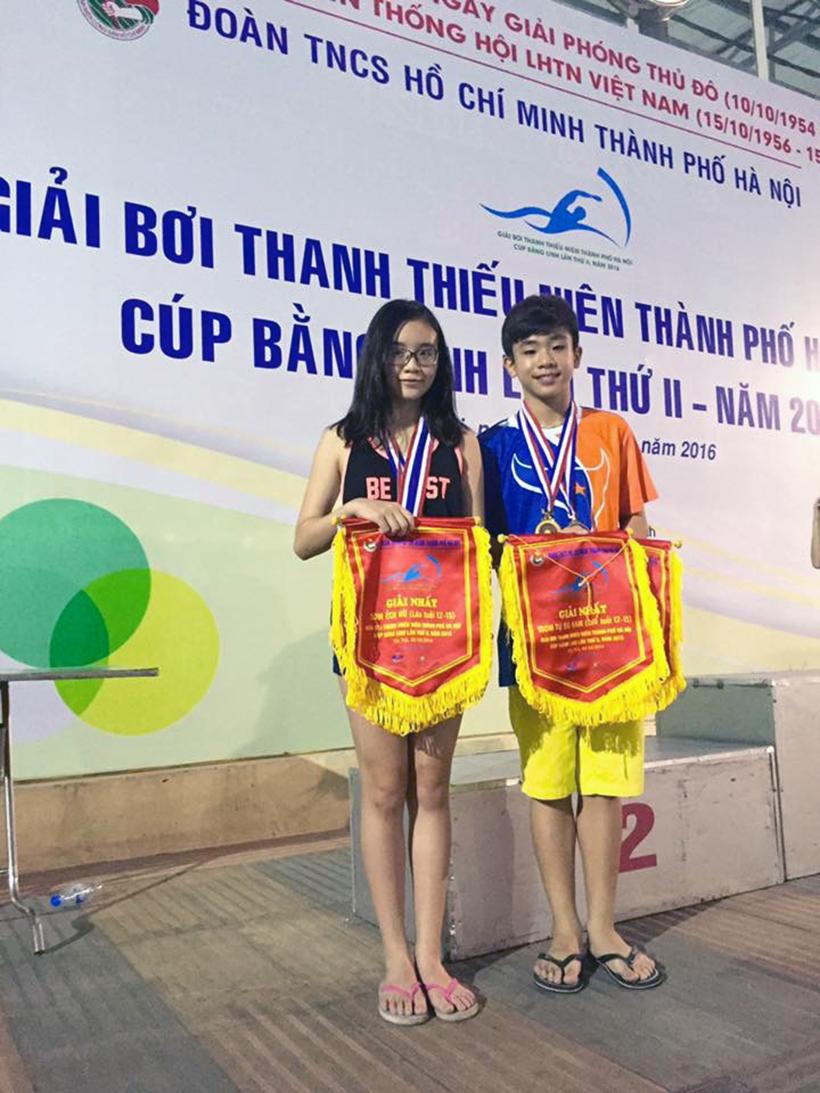 THCS noi hoi tu VDV vang 1 Trường THCS Hanoi Academy – Nơi hội tụ những VĐV vàng