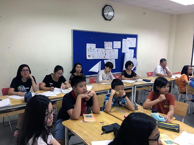 Van minh thanh lich 2 Thầy và trò trường THCS Hanoi Academy trong phong trào giáo dục Nếp sống văn minh thanh lịch