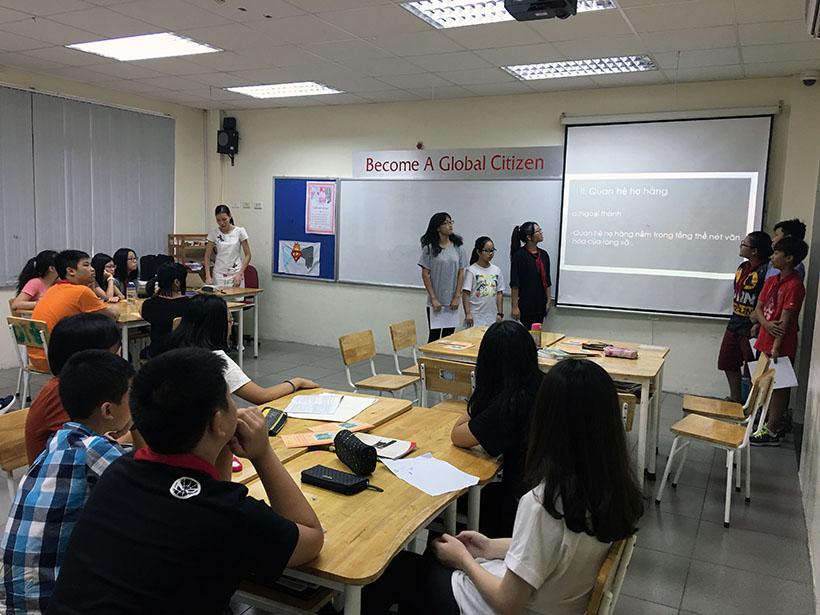Van minh thanh lich 3 Thầy và trò trường THCS Hanoi Academy trong phong trào giáo dục Nếp sống văn minh thanh lịch
