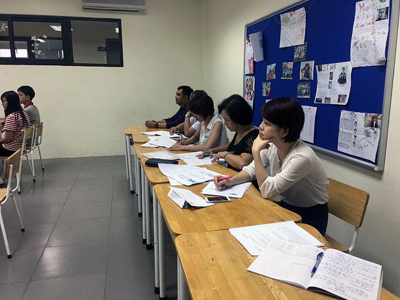 Van minh thanh lich 4 Thầy và trò trường THCS Hanoi Academy trong phong trào giáo dục Nếp sống văn minh thanh lịch