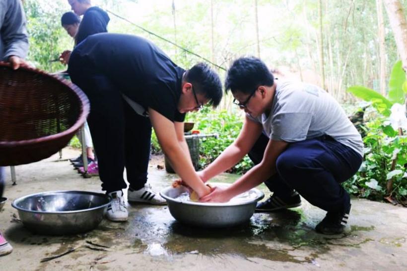 Cuoc thi nau an giua nui rung 11 Cuộc thi nấu ăn ở giữa núi rừng