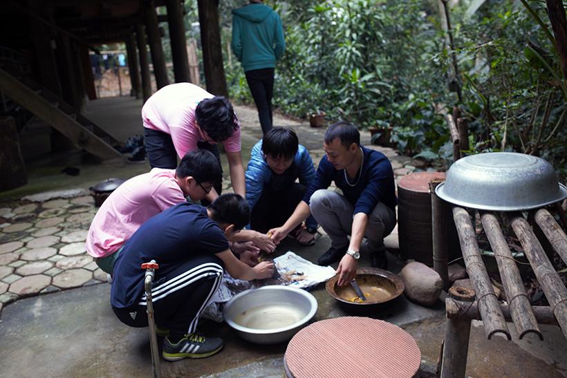Cuoc thi nau an giua nui rung 3 Cuộc thi nấu ăn ở giữa núi rừng