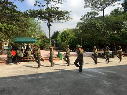 Hoi thao Quoc Phong 2 Chúng tớ tham gia Hội thao giáo dục quốc phòng an ninh