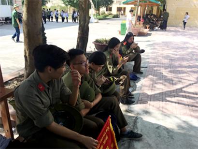 Hoi thao Quoc Phong 3 Chúng tớ tham gia Hội thao giáo dục quốc phòng an ninh