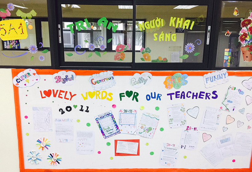 Lovely words for our teachers 1 Lovely words for our teacher