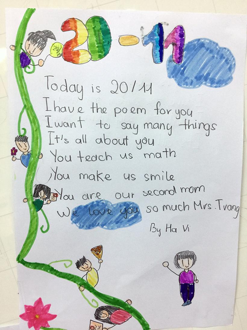 Lovely words for our teachers 3 Lovely words for our teacher