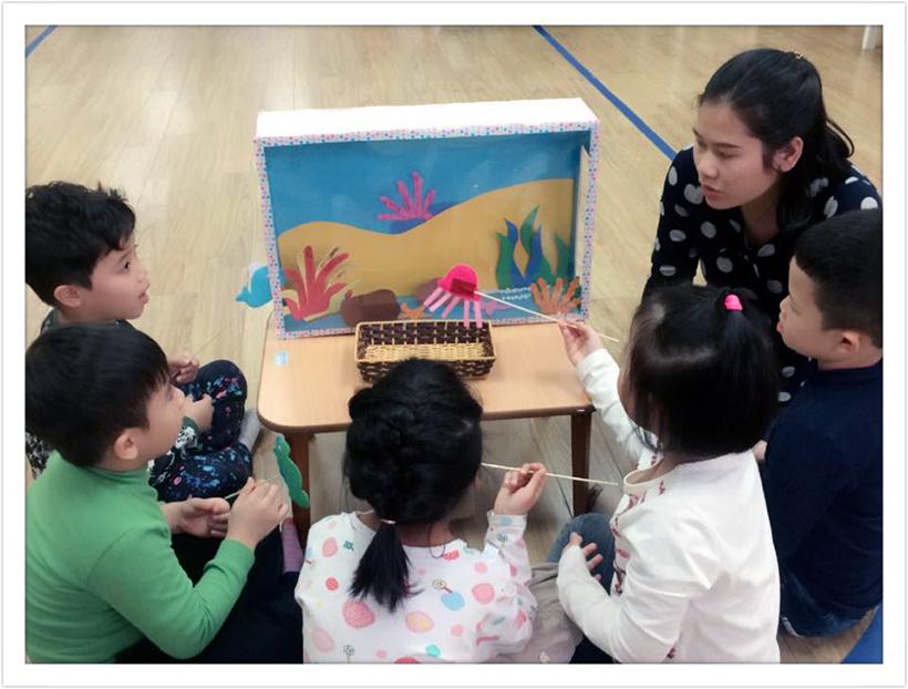 """Phat trien ngon ngu cho tre 3 Chuyên đề """"Phát triển ngôn ngữ cho trẻ thông qua kể chuyện sáng tạo"""""""