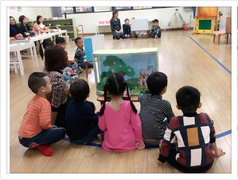 """Phat trien ngon ngu cho tre 5 Chuyên đề """"Phát triển ngôn ngữ cho trẻ thông qua kể chuyện sáng tạo"""""""