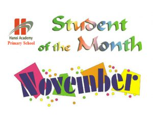 Student of the month – November