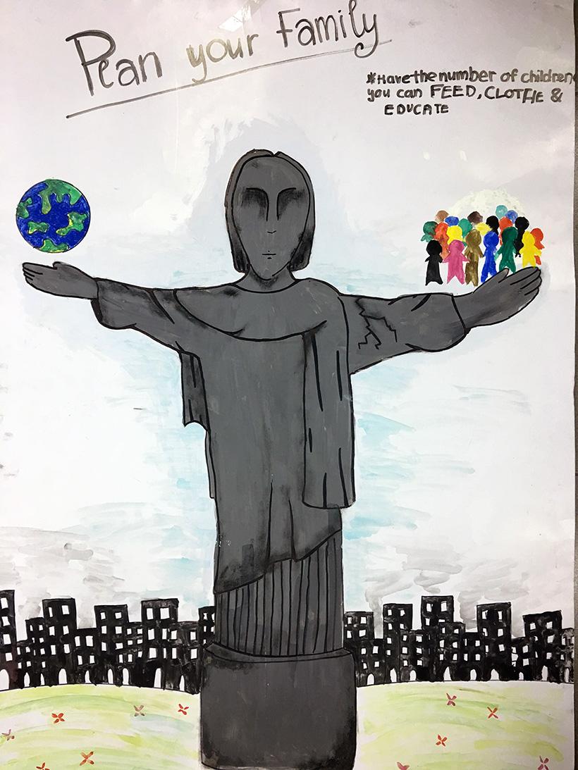 Van de toan cau 3 Vấn đề toàn cầu qua cách nhìn của học sinh trường THCS Hanoi Academy