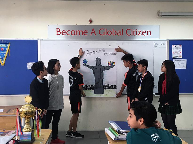 Van de toan cau 4 Vấn đề toàn cầu qua cách nhìn của học sinh trường THCS Hanoi Academy