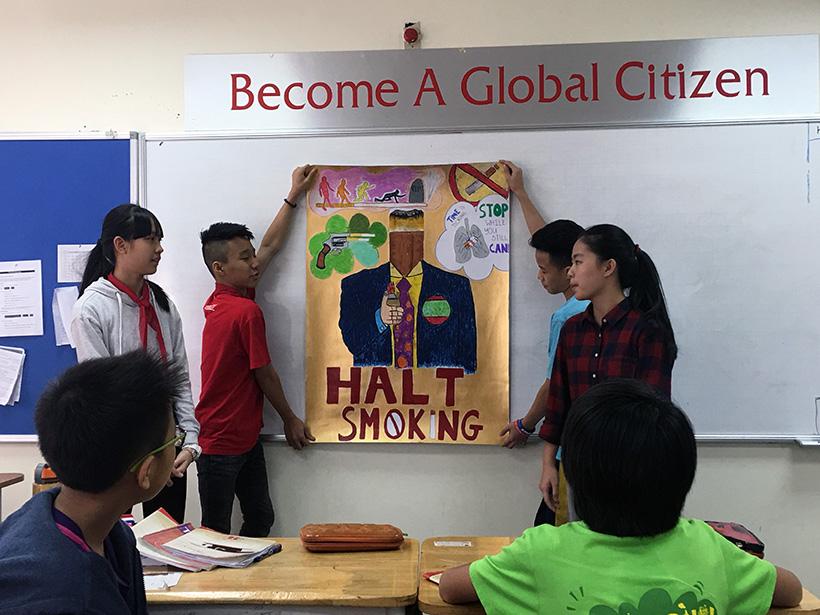 Van de toan cau 5 Vấn đề toàn cầu qua cách nhìn của học sinh trường THCS Hanoi Academy