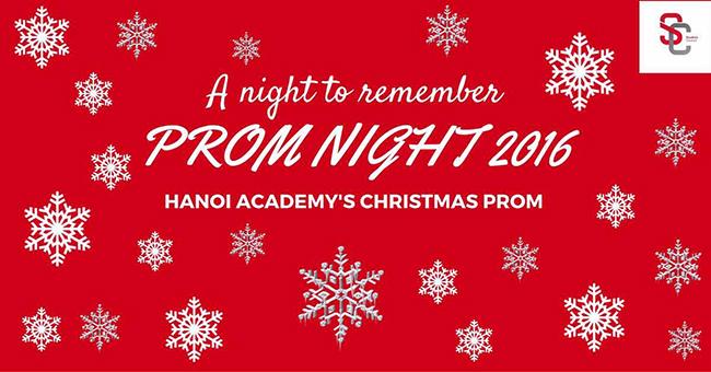 Dạ tiệc Giáng Sinh  Dạ tiệc Giáng Sinh Hanoi Academy