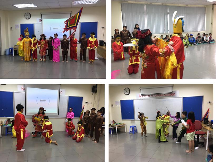 Chung minh thi ma vui lam nhe 1 Chúng mình thi ở Hanoi Academy vui lắm nhé!