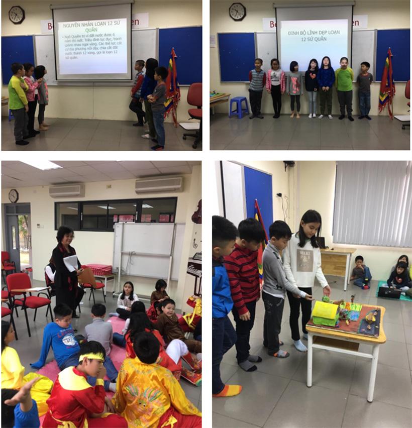 Chung minh thi ma vui lam nhe 4 Chúng mình thi ở Hanoi Academy vui lắm nhé!