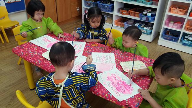 Cung be hoc ve 10 Hãy cùng bé học vẽ!