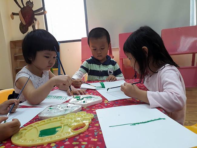 Cung be hoc ve 4 Hãy cùng bé học vẽ!