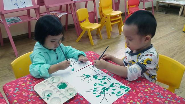 Cung be hoc ve 9 Hãy cùng bé học vẽ!