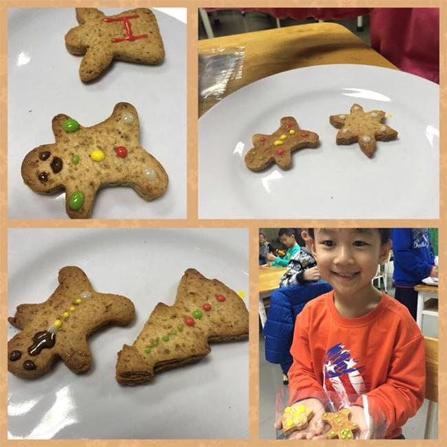 Giang sinh am ap voi banh gung 10 Giáng sinh ấm áp với bánh quy gừng siêu kute
