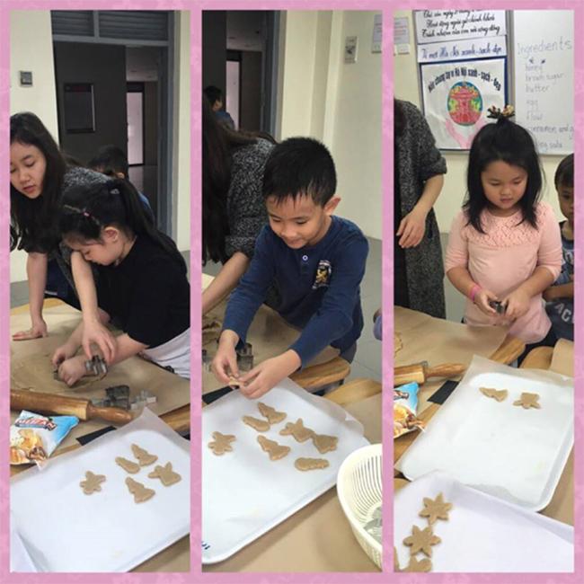 Giang sinh am ap voi banh gung 5 Giáng sinh ấm áp với bánh quy gừng siêu kute