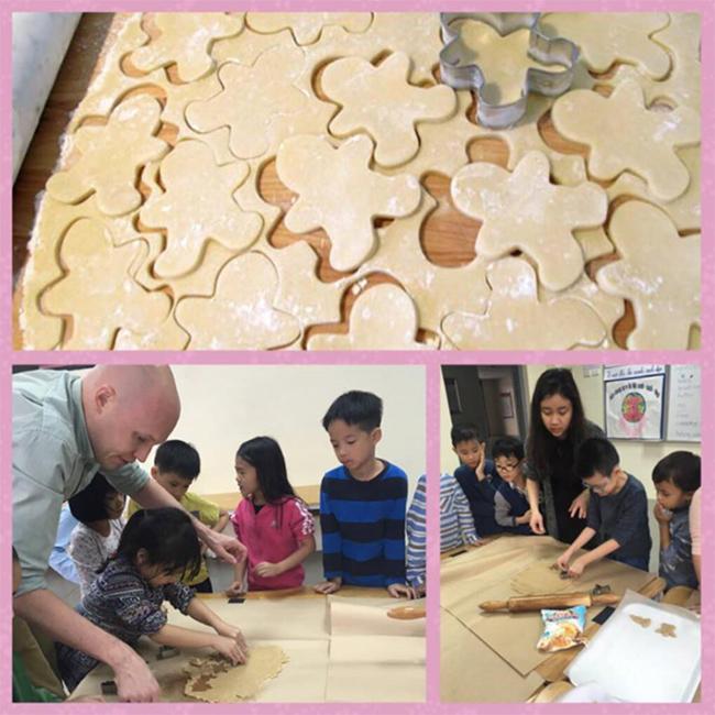 Giang sinh am ap voi banh gung 6 Giáng sinh ấm áp với bánh quy gừng siêu kute