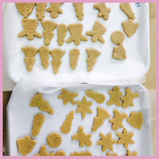 Giang sinh am ap voi banh gung 7 Giáng sinh ấm áp với bánh quy gừng siêu kute