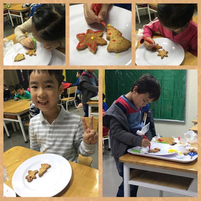 Giang sinh am ap voi banh gung 8 Giáng sinh ấm áp với bánh quy gừng siêu kute