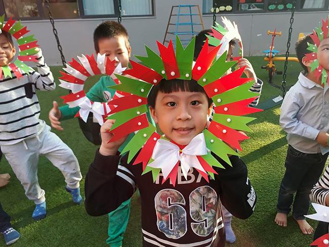 Lop Montesori 17 Lớp Montessori chào đón Noel 2016