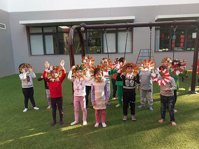 Lop Montesori 18 Lớp Montessori chào đón Noel 2016