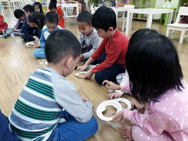 Lop Montesori 4 Lớp Montessori chào đón Noel 2016