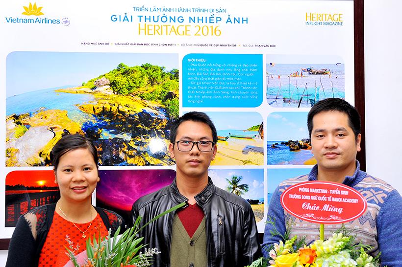"""Pham Van Duc 4 Phạm Văn Đức – dấu ấn trên """"Hành trình di sản"""""""