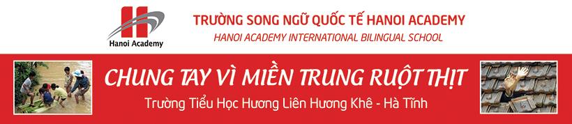 Hành trình thiện nguyện của trường Hanoi Academy Hành trình thiện nguyện của trường Hanoi Academy