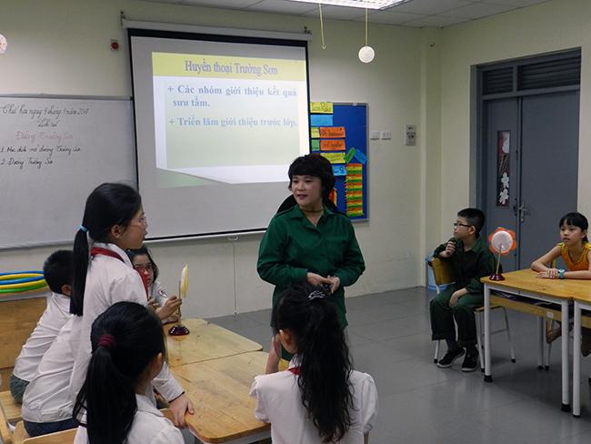 GV day gioi TH 14 Giáo viên Tiểu học hưởng ứng Hội thi giáo viên dạy giỏi cấp Quận năm học 2016 – 2017