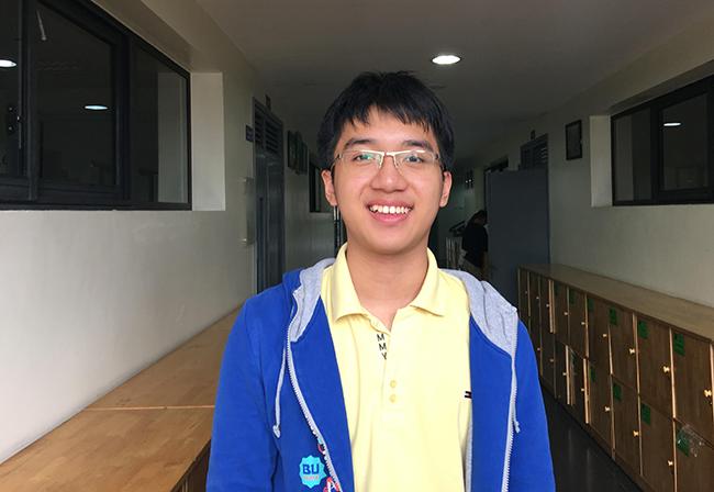 NHAT LONG Những cái tên nối dài bảng vàng thành tích trong cuộc thi IOE cấp Quận trường THCS Hanoi Academy