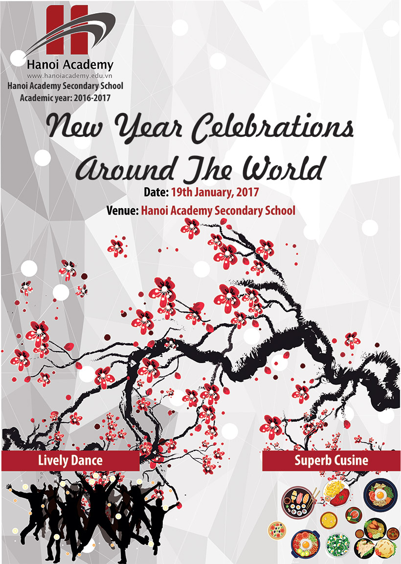 """New Year Celebrations Around the World Chương trình """"New Year Celebrations Around the World"""""""