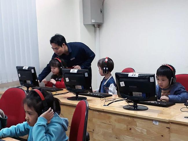 Cho tre MN tiep can CNTT 3 Cho trẻ mầm non tiếp cận với công nghệ thông tin không khó