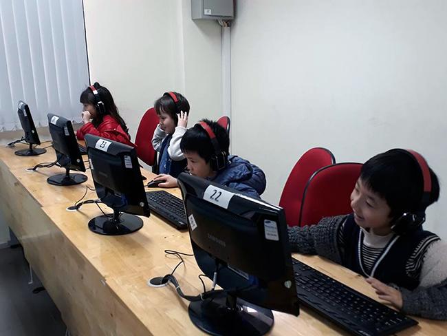 Cho tre MN tiep can CNTT 6 Cho trẻ mầm non tiếp cận với công nghệ thông tin không khó