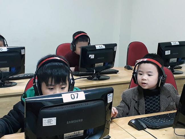 Cho tre MN tiep can CNTT 10 Cho trẻ mầm non tiếp cận với công nghệ thông tin không khó