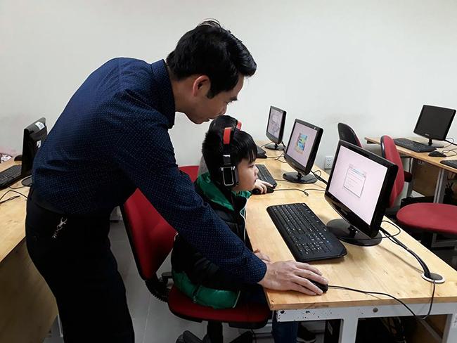 Cho tre MN tiep can CNTT 11 Cho trẻ mầm non tiếp cận với công nghệ thông tin không khó