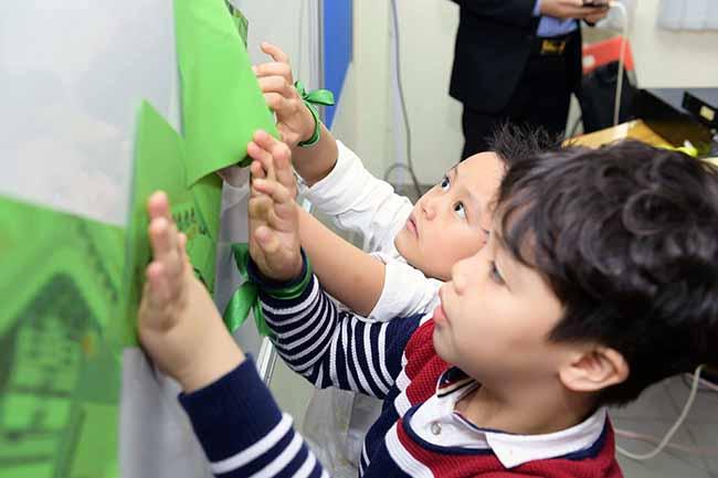Cung con toi truong 4 Bố mẹ ơi, cùng con tới trường Hanoi Academy nhé!