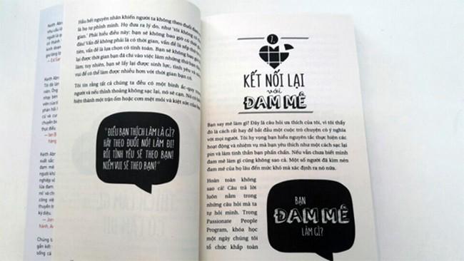Bat dau tu dam me 2 Bắt đầu từ đam mê: Làm điều bạn thích và yêu điều bạn làm