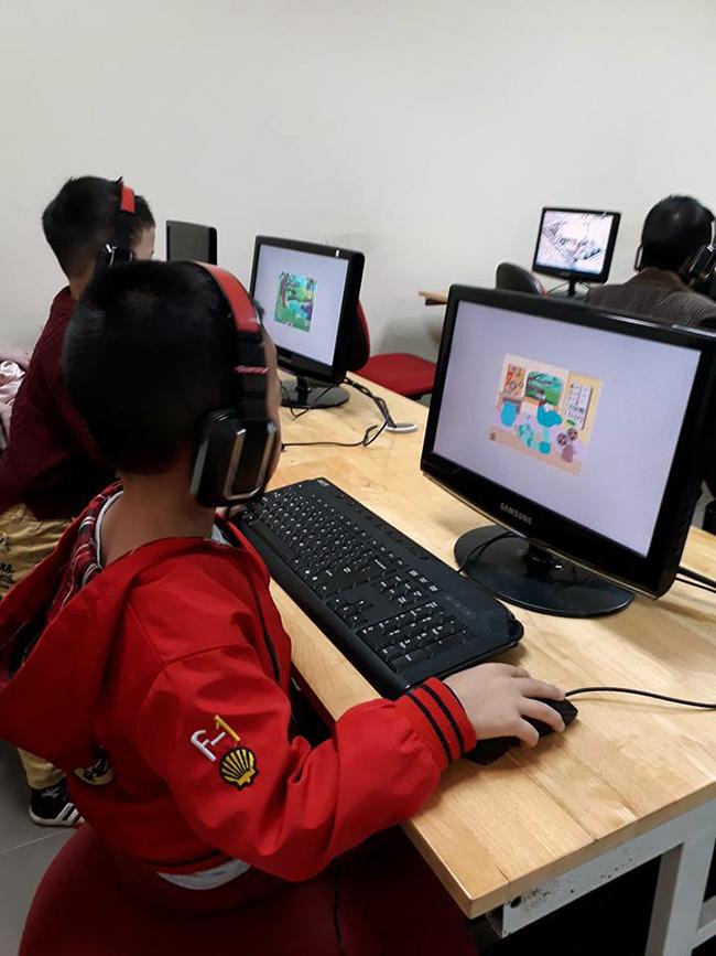 Cho tre MN tiep can CNTT 15 Cho trẻ mầm non tiếp cận với công nghệ thông tin không khó