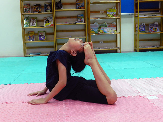 Yoga Cùng khám phá giờ học Yoga đầy thú vị