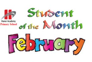 Student of the Month – February
