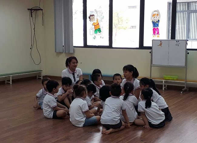 Giáo dục thể chất Giáo dục thể chất trẻ em độ tuổi Mầm non