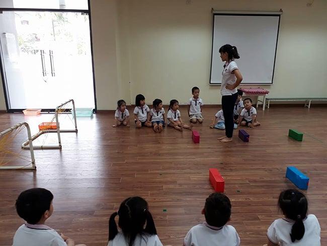 Giáo dục thể chất trẻ em độ tuổi Mầm non