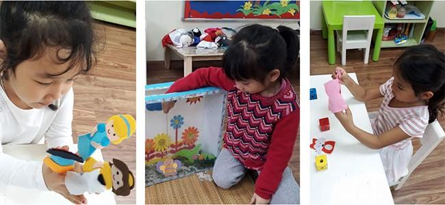 Trẻ Mầm non với kĩ năng kể chuyện sáng tạo
